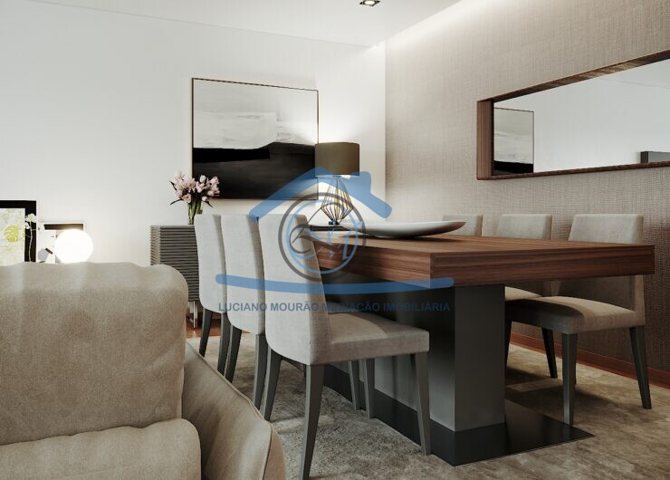 Sala Mesa de jantar Perspectiva
